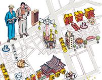 Popeye: Asakusa Map