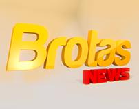 Abertura/Opening Portal Brotas News - Motion Graphics