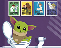 Star Wars Rules for the Bathroom