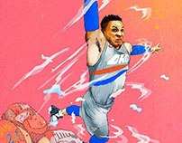 Russell Westbrook | NBA Art