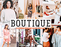 Free Boutique Mobile & Desktop Lightroom Presets