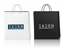 Naming e Identidade Visual Skoen Shoes