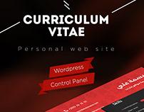 Persomal website cv