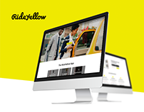Rideyellow Web design / Wordpress Development