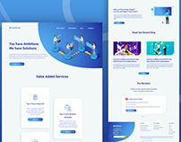 UK based Forex trading company website redesign