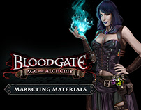 Blood Gate Marketing Illustration