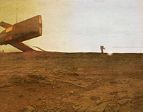 "ABD_another boring day on mars. ""Ape Territory 03"""