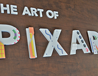The Art of Pixar - Analog Typography