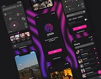 Yaza iOS app