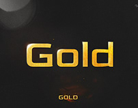 Gold - Display Typeface
