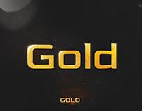 Gold - Free Font