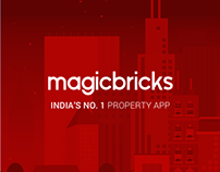 Magicbricks App Design