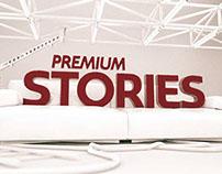 Premium Stories branding proposal