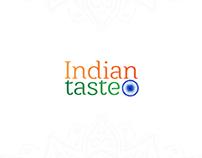 """الهوية التجارية لمطعم """" المذاق الهندي """""""