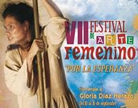 VI y VII festival de arte femenino