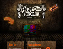 Radio Club Website Design