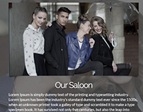 Fun Station Saloon in Barcelona Website Design