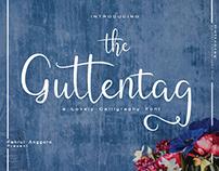 Guttentag Script - Lovely Calligraphy Font