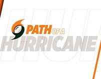 Path of a Hurricane Recruiting Campaign GIFs