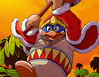 King Dedede Vs Olimar