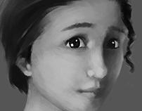 2D Greyscale Renderings
