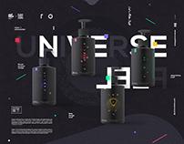 UNIVERSE FEEL x Product brand design
