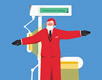 "Illustration Book ""HOW DMI HELPED SANTA SAVE CHRISTMAS"""