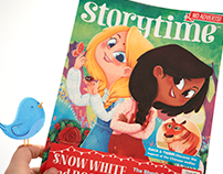 Storytime Magazine issue no. 41 Snow White and Rose Red