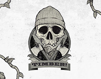 Timber Vintage Label
