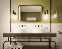 Olive Bathroom