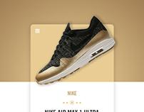 Nike UI Cards