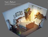 The Thriving Stone-Hank's bedroom