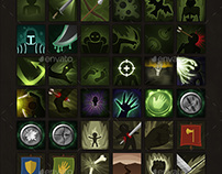 310 RPG Fantasy Spells Icons Bundle