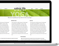 Sattvic Life website
