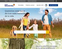 Rediseño sitios Grupo Bancolombia 2015