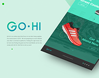 GO-HI Online Store Branding