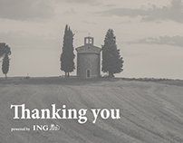 ING Direct - Thanking you