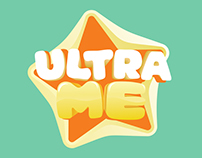 Ultra Me baby diapers / Packaging design / Branding