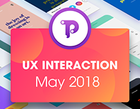 UX/UI Interaction for May 2018