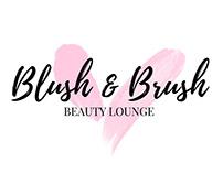 BLUSH & BRUSH Criação do logo
