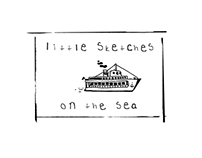Little sketches on the sea
