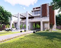 Villa Rendering