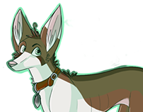 Illustration | Ibizan Hound