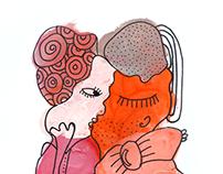 Les amants roses
