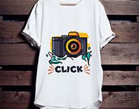 Photography T-shirt Design Bundle