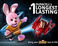 DURACELL key visual development
