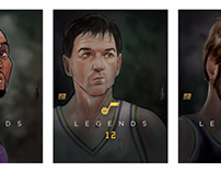 Utah Jazz Legends