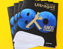 Revista comemorativa 80 anos Ultragaz