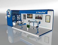 Booth for Tetra Pak Exhibition