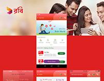Digitization of Robi App
